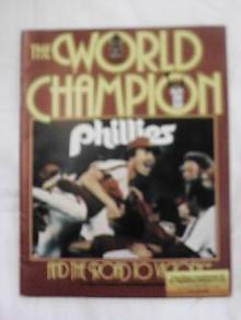 1980 PHILLIES WORLD CHAMPION MAGAZINE