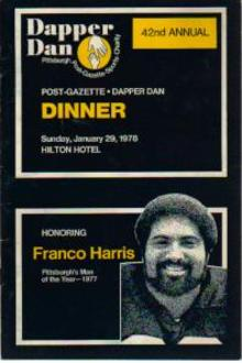 Franco Harris Pgh Steelers 1978 Dapper Dan