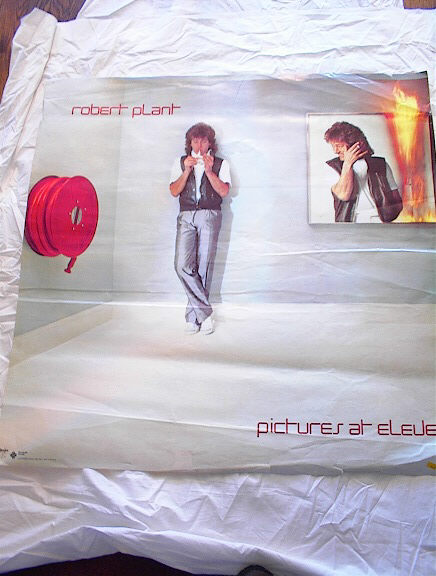 ROBERT PLANT PICTURES AT ELEVEN ALBUM POSTER
