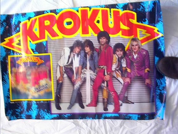 GREAT KROKUS CHANGE OF ADRESS POSTER