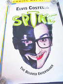 ELVIS COSTELLO STRIKE ALBUM POSTER