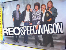 REO SPEED WAGON BAND POSTER