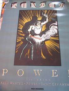 KANSAS POWER ALBUM POSTER