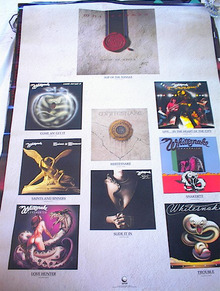 GREAT WHITESNAKE BAND POSTER