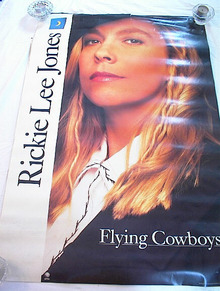 RICKIE LEE JONES FLYING COWBOYS ALBUM POSTER