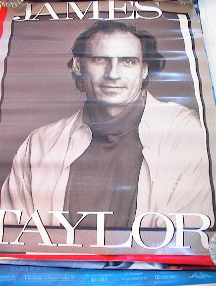 -----------NICE JAMES TAYLOR POSTER----------