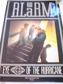 THE ALARM EYE OF THE HURRICANE ALBUM POSTER