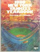 1980 NY Yankees Yearbook revised ed EX