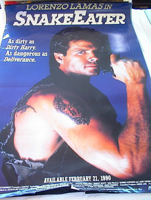 1989 SNAKE EATER STARRING LORENZO LAMAS
