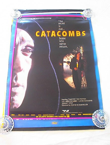 1989 CATACOMBS STARRING TIMOTHY VAN PATTEN