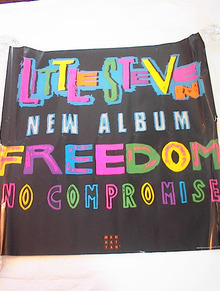 LITTLE STEVEN FREEDOM NO COMPROMISE POSTER