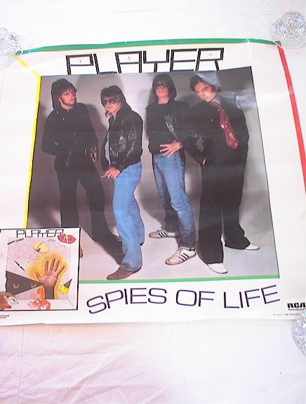 =====PLAYER SPIES OF LIFE ALBUM POSTER=======