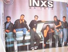 _____________1988 INXS TOUR POSTER___________