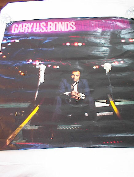 GARY U.S. BONDS DEDICATION ALBUM POSTER