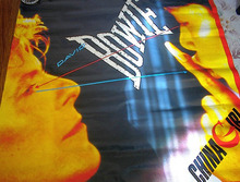 DAVID BOWIE CHINA GIRL ALBUM POSTER