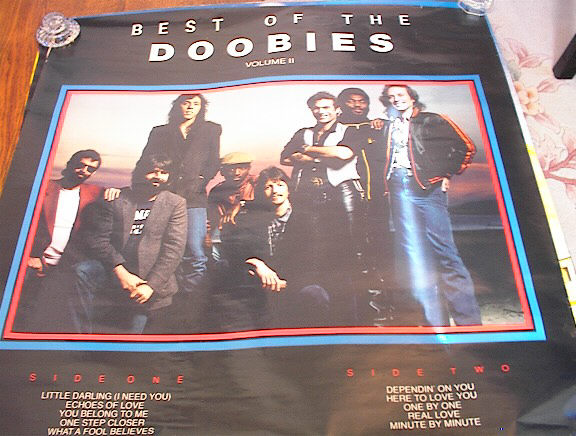 THE BEST OF THE DOOBIES VOLUME II POSTER