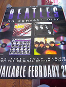 THE BEATLES FIRST FOUR ALBUMS POSTER