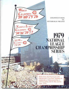 1979 N.L.Champ.Series, Reds vs. Pirates