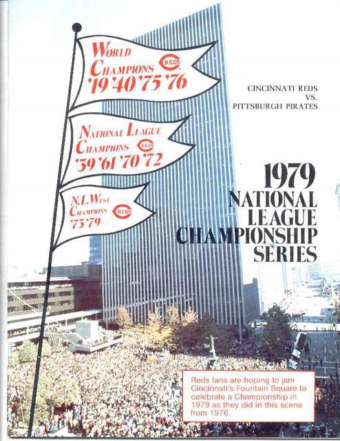 1979 N.L.Champ.Series, Reds vs. Pirates