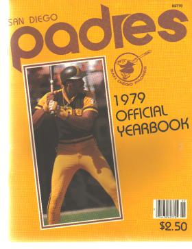 San Diego Padres Yearbook 1979 Dave Winfield