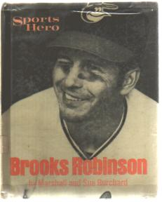 Brooks Robinson Sports Hero 1972 photo book