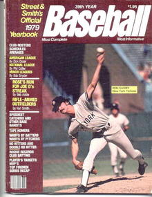 '79 Baseball Yearbook/Ron Guidry,Yankees cov.