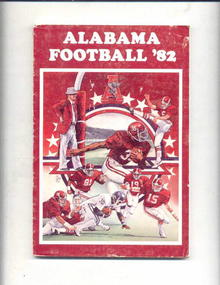 1982 Alabama Football Scheduale