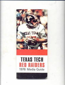 1976 Texas Tech Red Raiders Scheduale