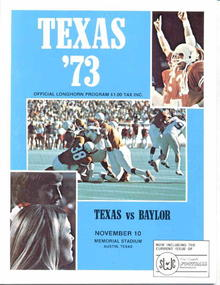 '73 Texas vs. Baylor, Nov. 10, Austin
