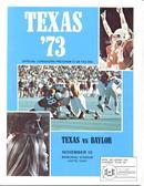 '73 Texas vs. Baylor, Nov. 10, Austin