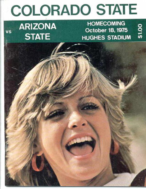 1975 Colorado vs. Arizona, Official Program