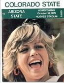 1975 Colorado vs. Arizona, Official Program