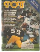Sport Mag 9/79 Football Special; Pgh Steelers