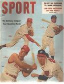Sport Mag 5/1957 Campanella Spahn Robets