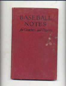 Baseball Notes for Coaches And Players/1927