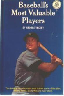 Baseballs MVPs G Vecsey; Mickey Mantle cover