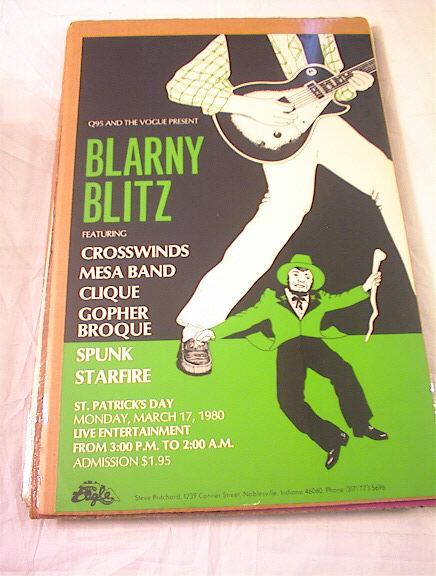 1980's BLARNY BLITZ ST.PATRICK'S DAY POSTER