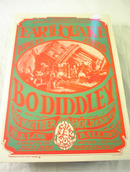 EARTHQUAKE BODIDDLEY DANCE CONCERT POSTER
