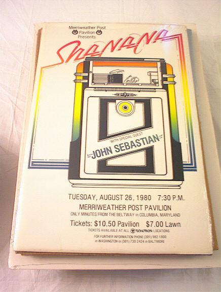 8/26/1980 SHANANA & JOHN SEBASTIAN CONCERT PO