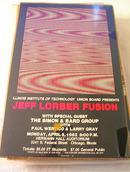APRIL 5,1982 JEFF LORBER FUSION CONCERT POSTE