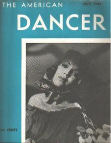 American Dancer 7/1941 Margo; Muriel Gray