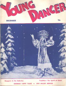 Young Dancer 12/1937 Ann Miller; Danilova