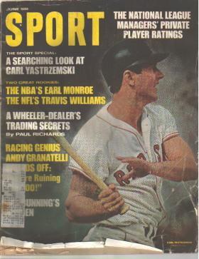 Sport Mag June 1968 Red Sox Carl Yastrzemski