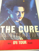 1989 THE CURE DISINTEGRATION TOUR POSTER