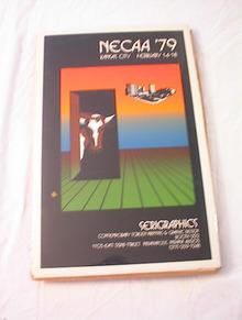 COOL SERIGRAPHICS NECAA'79 POSTER