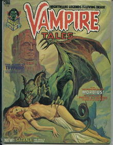 Vampire Tales, Claws of Tryphon, 10/73