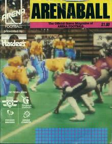 Arenaball 1987 Official Game Magazine
