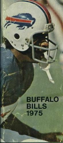 Media Guide- Buffalo Bills, 1975