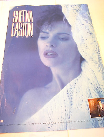 ******SHEENA EASTON DO YOU ALBUM POSTER******