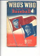 Who's Who In The Major Leagues/1941